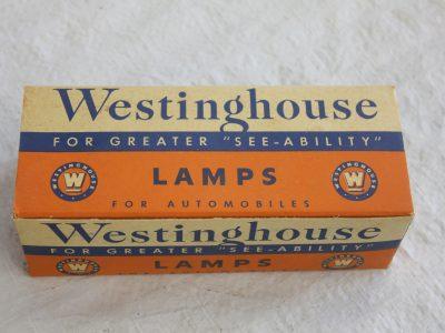 2320 Westinghouse 6 Volt Head Lamp Bulbs