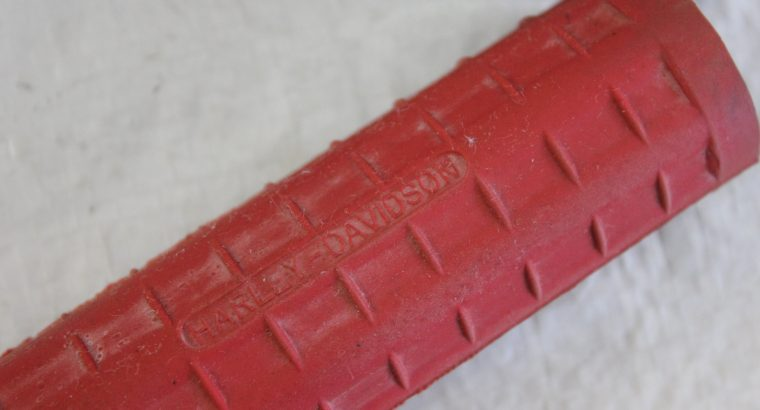 Harley Davidson Red Rubber WAFFLE Grips