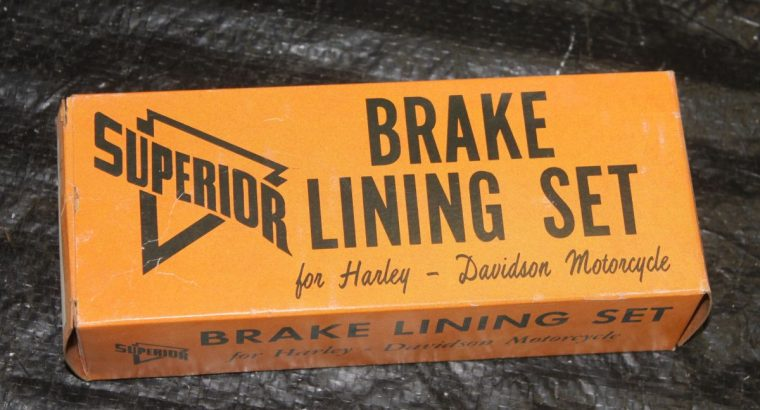 Superior NEW 81848 Rear Brake Lining