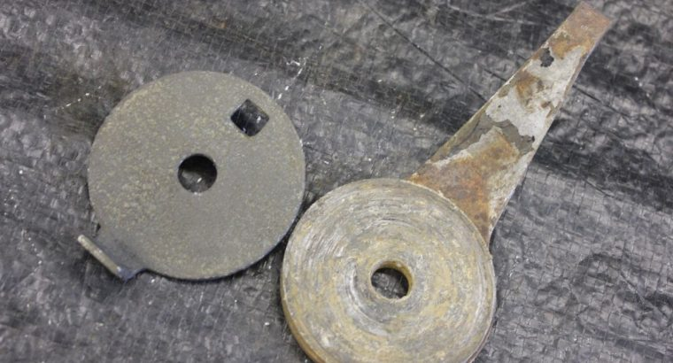 Steering Damper and Friction Disc for 36 and later