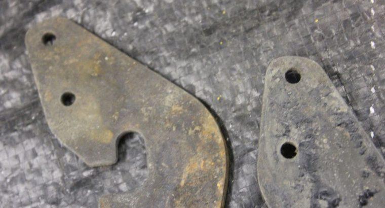 NOS Harley Davidson Fender Brace Plates