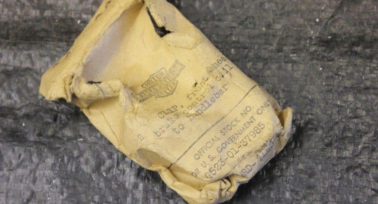 Brake Coil Clip on Handlebars / 2 pack NOS