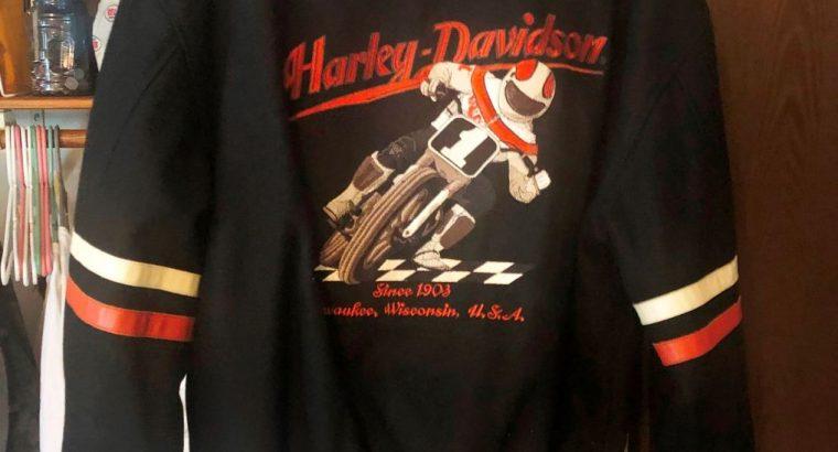 HARLEY DAVIDSON RACING #1 FLAT TRACK RACING COAT!!