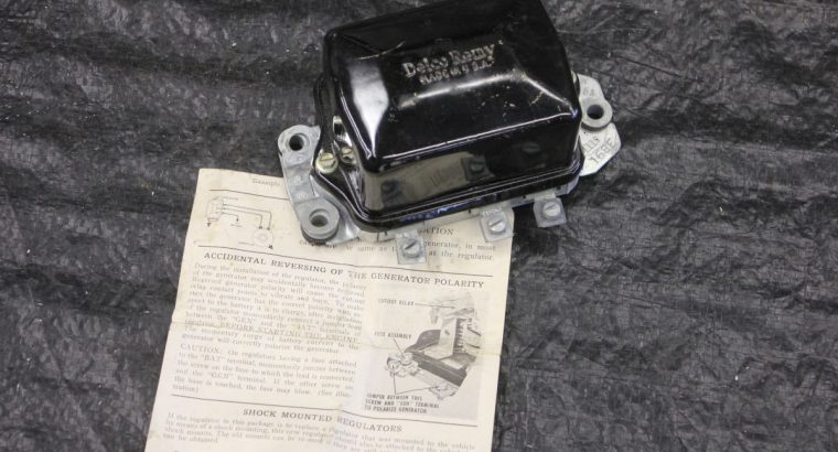 NOS DELCO 12 Volt Regulator 1965 and later