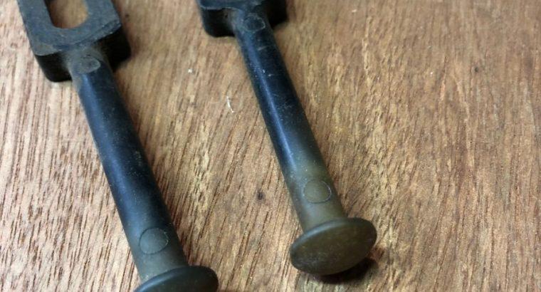 Harley Topper petcock pull handles original