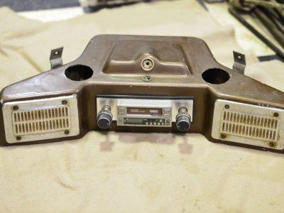 Harley Davidson Shovelhead Radio Console
