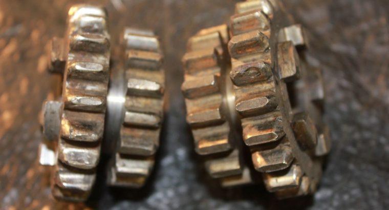 HARLEY JD-VL SLIDER GEARS / 2 / OEM / USED