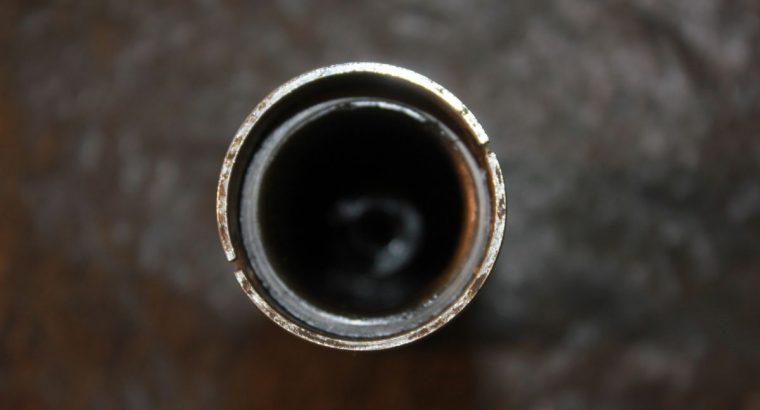 BLACK HANDLEBAR SPIRAL / GRIP / 1949-57 / ONE