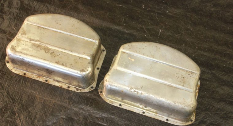 PANHEAD MATCHED PAIR ALUMINUM ROCKER COVERS