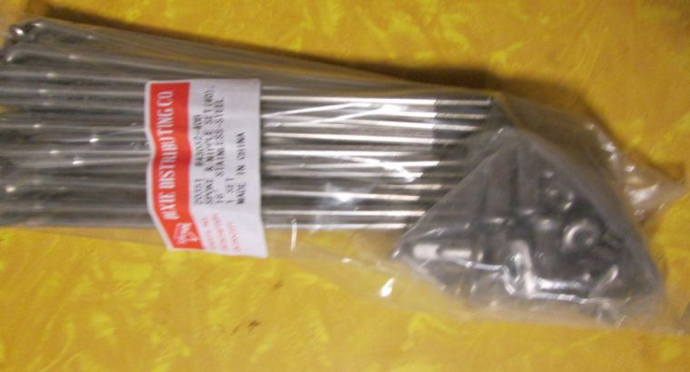 16 Inch Stainless Spokes