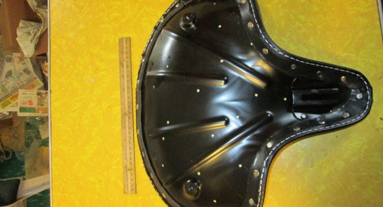 Harley Knucklehead 45 UL Pan Black Solo Seat