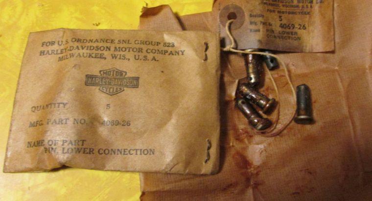 Harley Knuckle Pan 45 NOS Front Brake Pins
