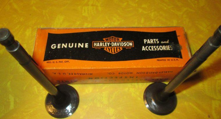 NOS Harley 45 Exhaust Valves