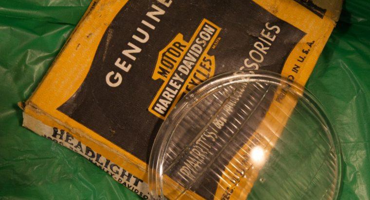 Harley Davidson #29 headlight lens and box
