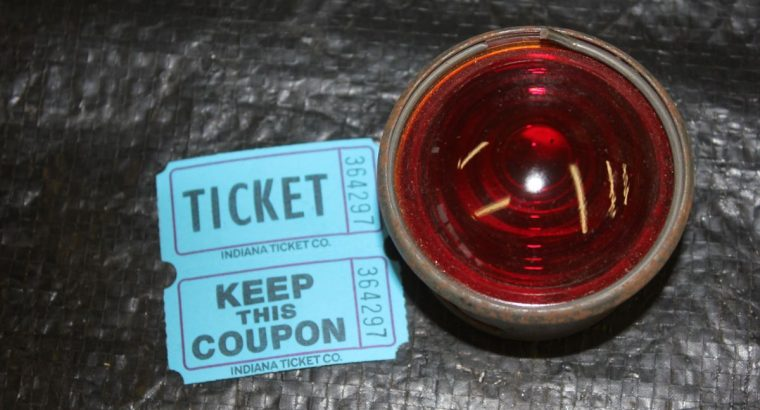 JD / VL / DL / RL SINGLES TAIL LIGHT CUP AND GLASS