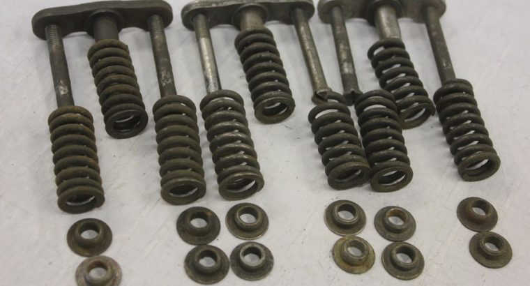 VL CLUTCH SECTORS, SCREWS, SPRINGS and PERCHES